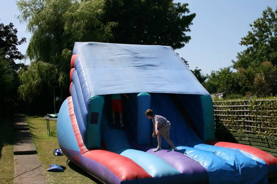www.dmcevents.ie Dublin bouncy castle Inflatable Slide