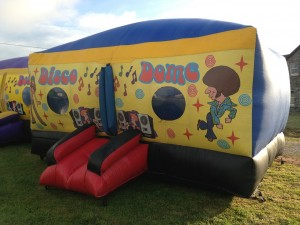 Bouncy Castle Disco Dome for All Weather