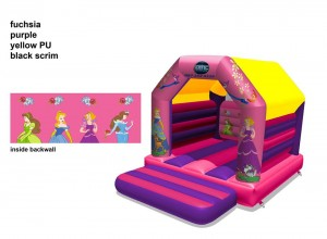 Disney Princess 12 * 12 Bouncy Castle