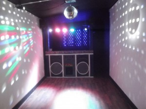 Disco Cube Venue in Shankill