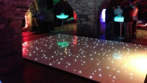 Sparkle Dance Floor - Dublin Wedding DJ