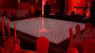 fairylit sparkle dance floor